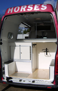 horsebox tackle locker