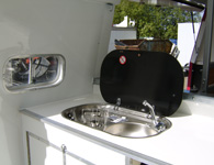 horsebox sink