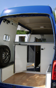 converted horsebox